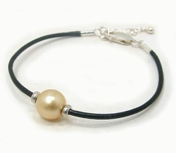 Golden South Sea Pearl Bracelet