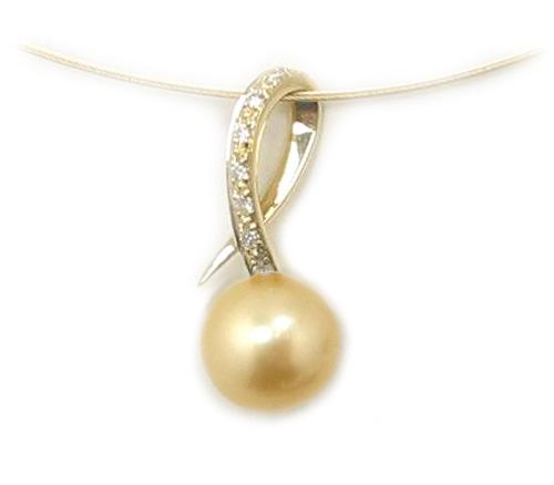 Golden south sea pearl slide pendant south sea pearl pendant slide golden south sea pearl pendant golden south sea pearls discount pearl jewelry aloadofball Gallery