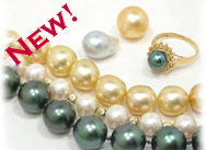 Tahitian Pearls, South Sea Pearls, New Arrivals