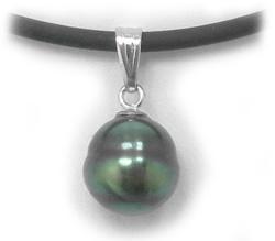 Tahitian pearl pendant tahitian black pearl pendant aloadofball Gallery