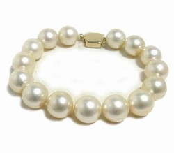 Champagne South Sea Pearl Bracelet