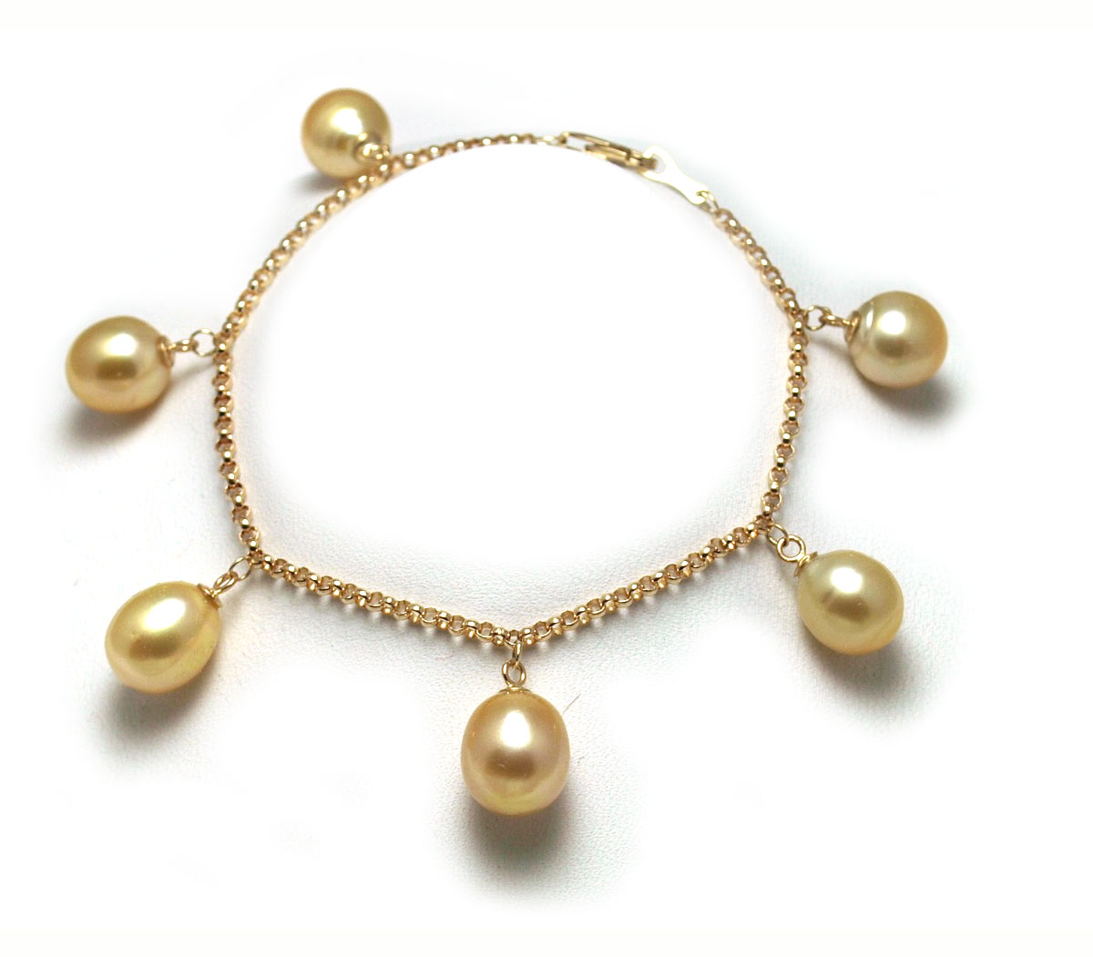 braided golden sea pearls diamond south ring gring pearl