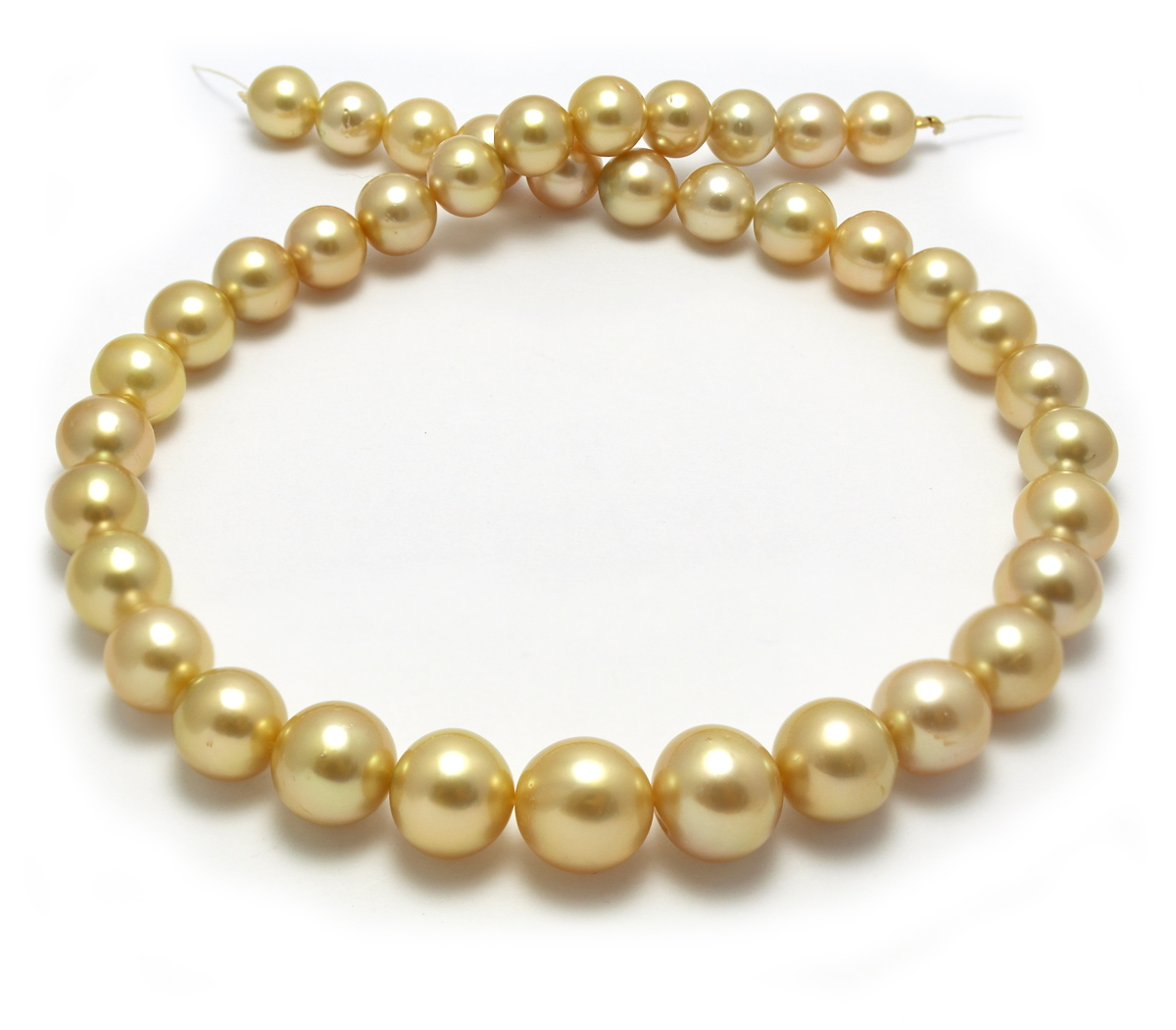 black pearl real pearls with golden store aaa online sea quot necklace south jewelry fine product