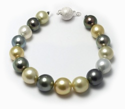 Multi Pelosi South Sea Pearl Bracelet