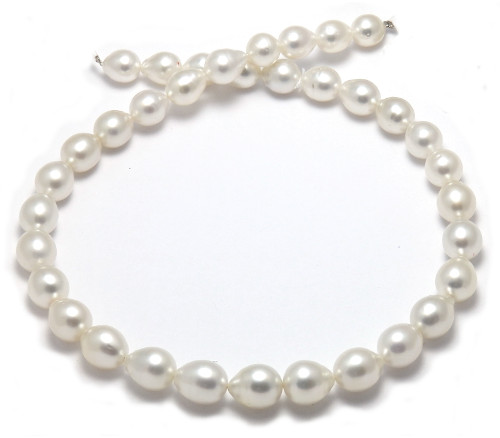 teardrop South Sea Pearl necklace