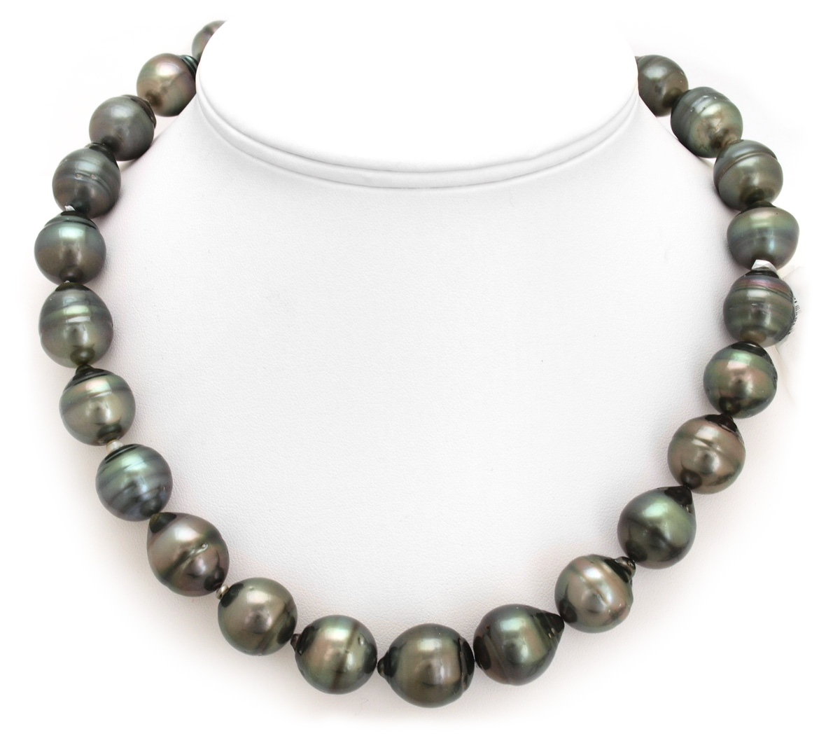 Huge Tahitian Pearl Necklace with Enormous Tahitian Pearls ...