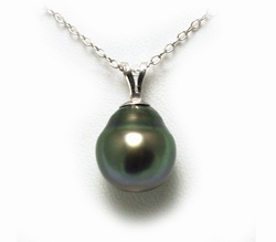 Pearl pendant tahizea pearl necklace moai island jewelry sterling silver 217 view tahizea tahitian pearl necklace aloadofball Image collections