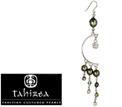 Tahizea Hitapere Vahi Tahitian Pearl Earrings