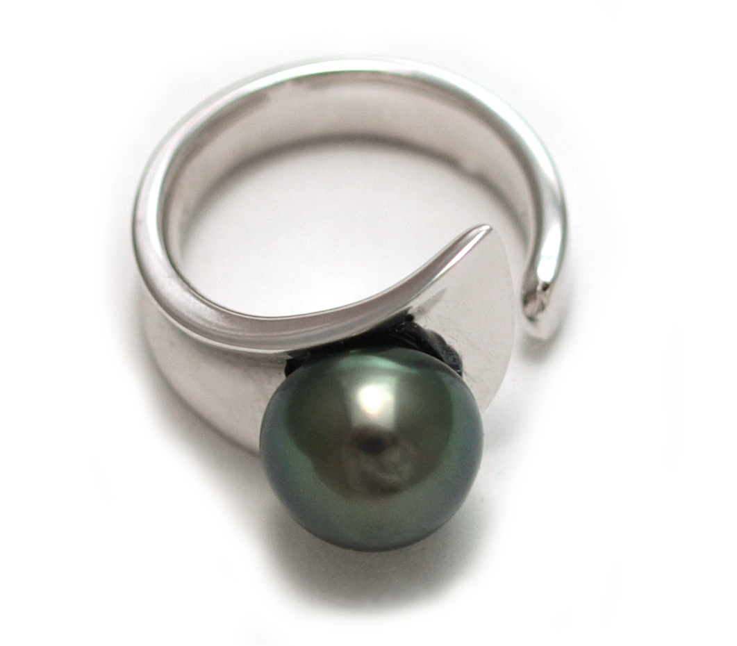 how to clean pearl and silver ring