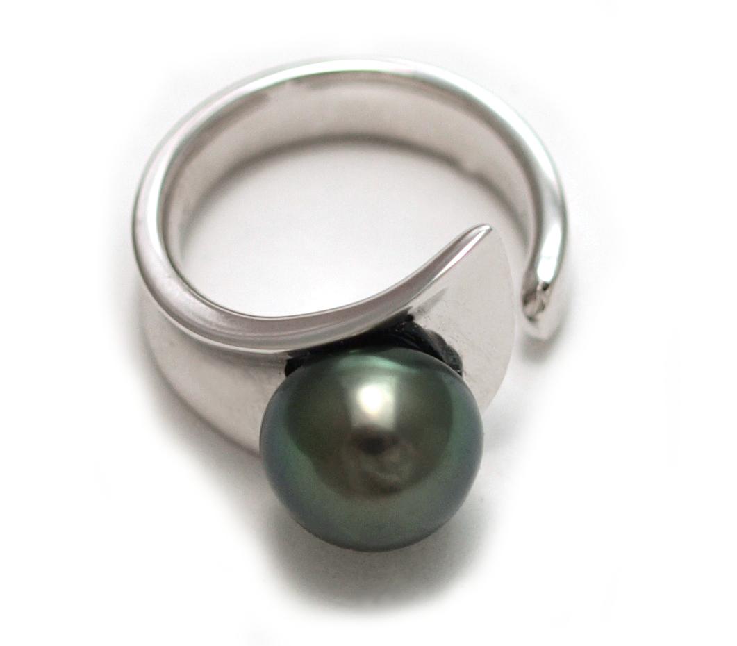 Tahitian Pearl Ring 1011mm Sterling Silver $195 View Tahitian Pearl Ring