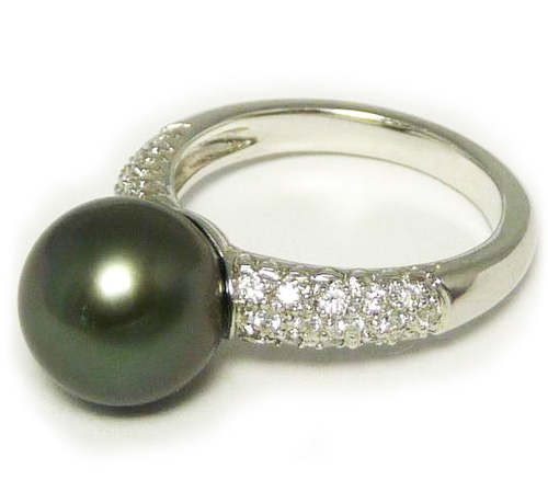 set and pearls pearl just gallery old in ring with gems diamonds cut fine jewellery cultured antique diamond