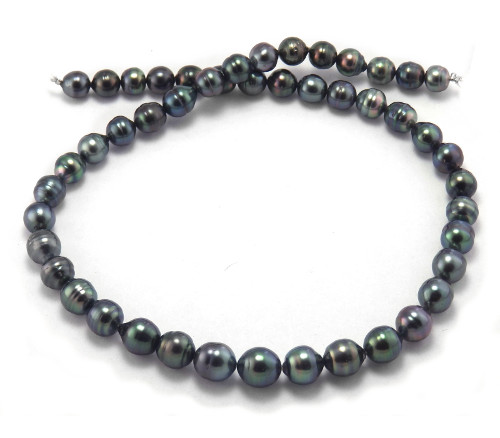 Peacock Tahitian Pearl Necklace with Tahitian Pearls
