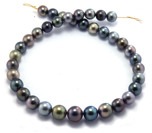 Rainbow Tahitian Pearl Necklace