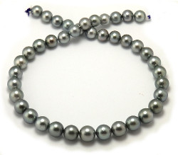 LIght Gray Tahitian Pearl Necklace