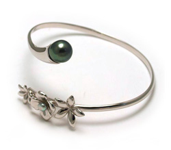 Tahizea Tahitian pearl bangle bracelet pitate