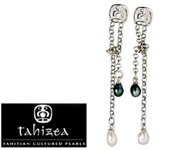 Tahizea Taura Tahitian Pearl Earrings
