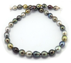Teardrop Tahitian Pearl Necklace