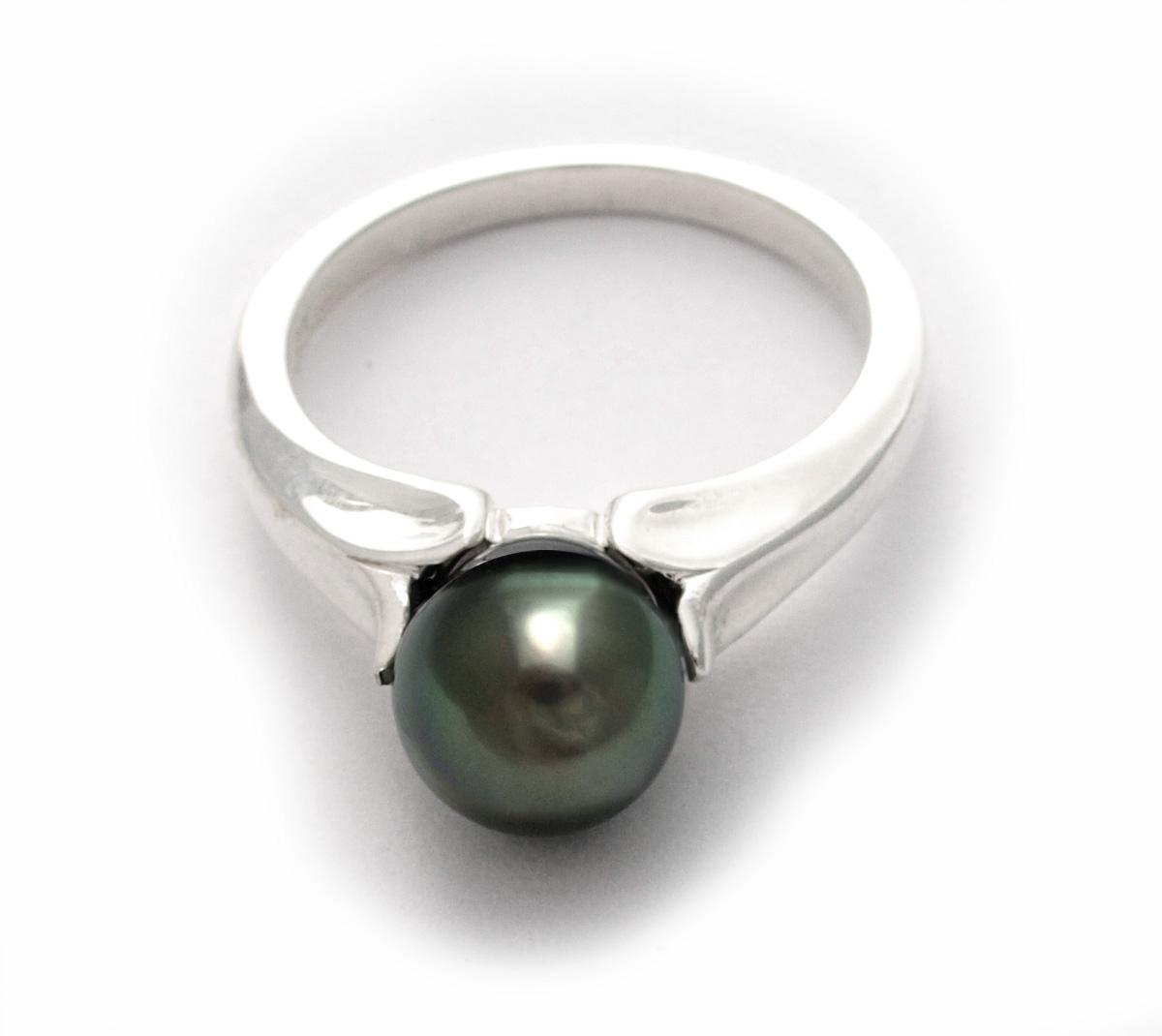 Tahitian Pearl Ring 78mm Sterling Silver $154 View Tahitian Pearl Ring